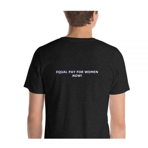 Mind The Gap Unisex Tshirt back