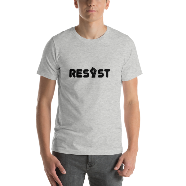 Resist Unisex T in Heather