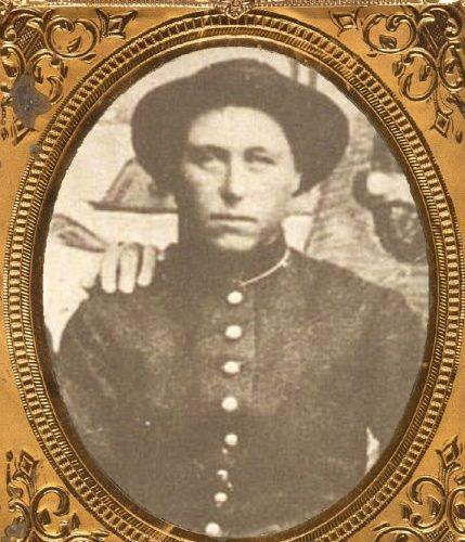Pvt. Albert D. J. Cashier, born Jennie Hodgers