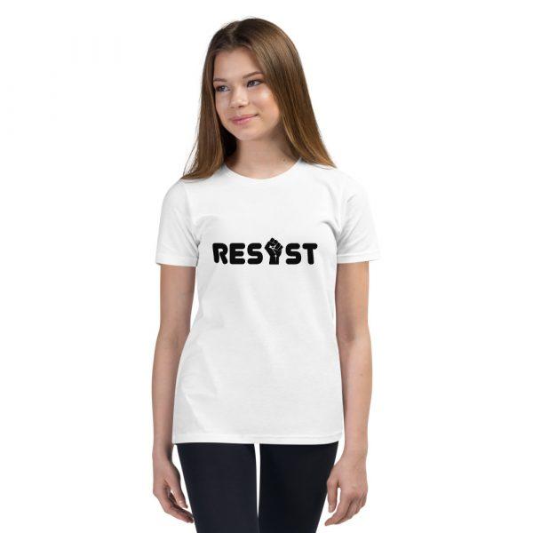 Resist Kids T-Shirt in White